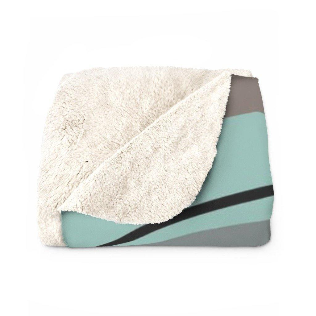 PEBBLES Sherpa Fleece Blanket | Verba Design Co.