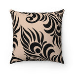 Load image into Gallery viewer, FEATHER Faux Suede Throw Pillow | Verba Design Co.
