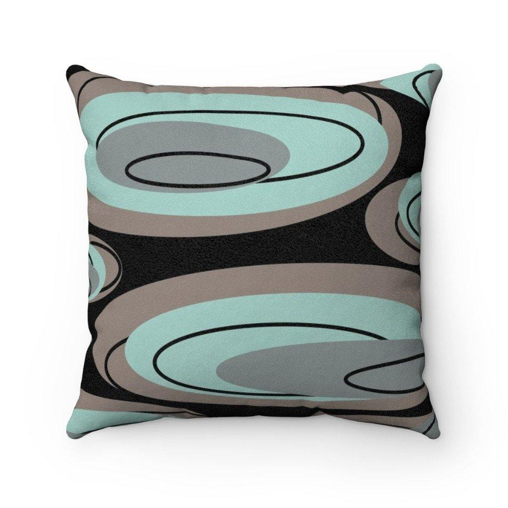 PEBBLES Faux Suede Throw Pillow | Verba Design Co.