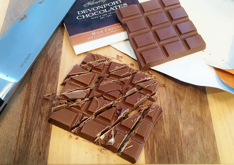 Devonport Chocolates Salted Caramel Chocolate Tablet | Chocolate Gift Idea | The Gift Loft (NZ)
