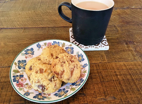 Salted Caramel Chocolate Chip Cookies | Le Creuset Mug | CC Interiors Coaster | The Gift Loft (NZ)