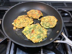 Sweetcorn Fritters | Vegetarian Meal Idea | The Gift Loft (NZ)