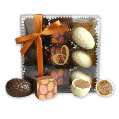 Unique delicious easter gift ideas chocolate easter eggs easter egg hamper with sweet nz kapiti candy co marshmallow fudge or the devonport chocolates easter nines make great gift ideas for clients or your negle Choice Image