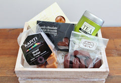 Afternoon Tea & Sweet Treats Food Hamper | Gift for Dad | The Gift Loft (NZ)