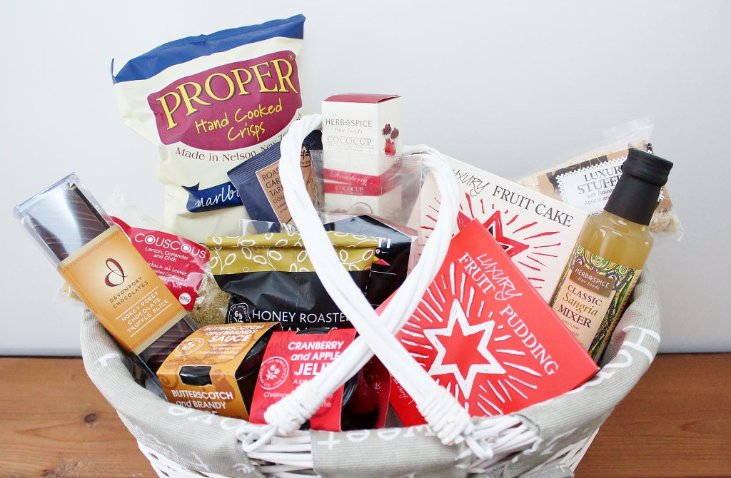 Christmas Gift Hamper Ideas | Lots of Artisan Food Gifts