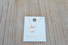 Stella + Gemma Fine Necklace | Gift for Niece or Daughter | The Gift Loft (NZ)