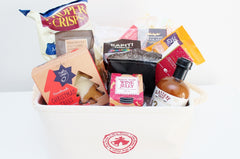 The No Dried Fruit Gourmet Food Gift Hamper | Gourmet Sweet & Savoury Gift | The Gift Loft (NZ)