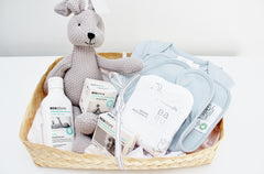 Newborn Baby Essentials Gift Hamper | Babu | The Gift Loft (NZ)