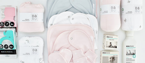 Babu Organic Cotton | Exciting Newborn Baby Gift Ideas | The Gift Loft (NZ)
