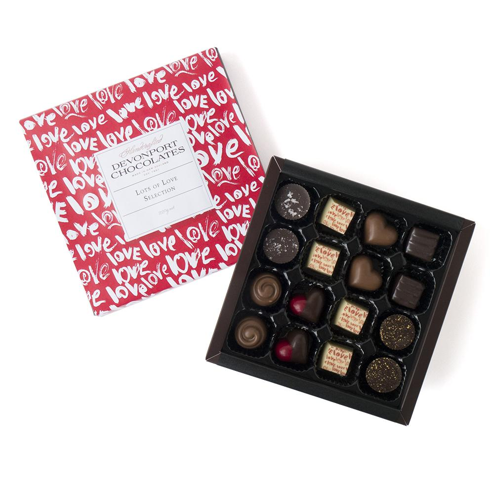 Valentine's Day Lots of Love Chocolates | Romance | The Gift Loft (NZ)