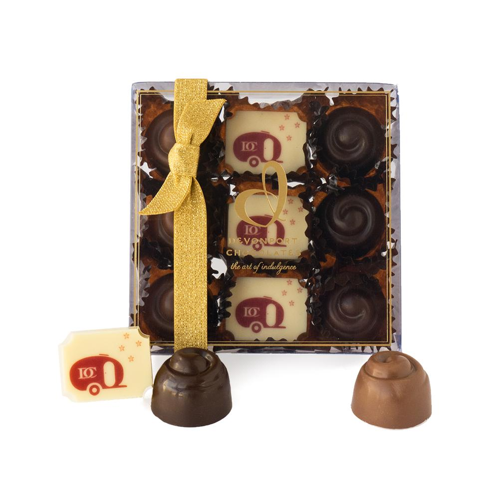 Christmas Box of Festive Devonport Chocolates | Devonport Chocolates Gift Giving | The Gift Loft (NZ)