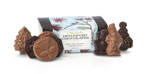 Devonport Chocolates Christmas Token Shapes | Chocolate Treat | The Gift Loft (NZ)