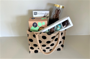Mr Bunny Easter Egg & Indulgent Liqueur Chocolate Dessert Hamper