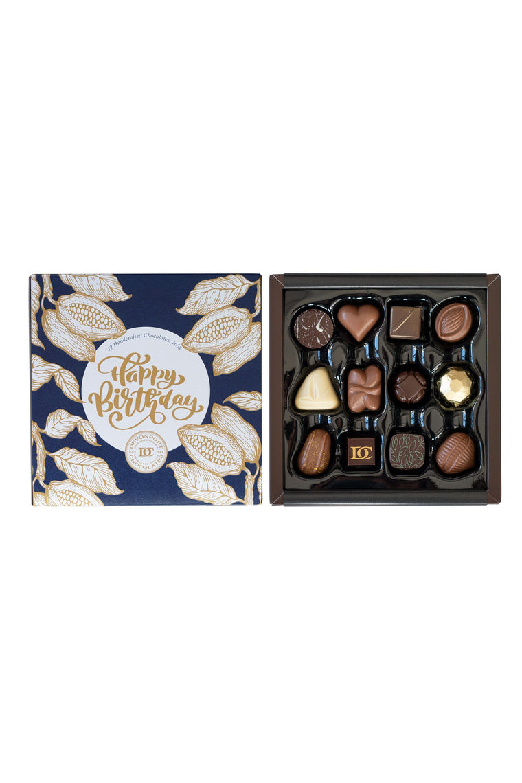 """Happy Birthday"" Chocolate Gift Box 