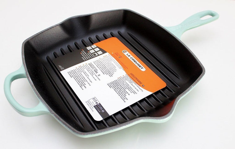 Le Creuset Signature Cast Iron Square Grillit Pan | Wedding Gift | The Gift Loft (NZ)