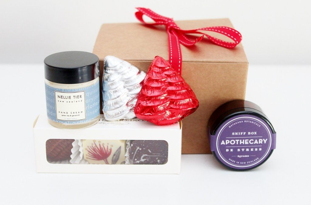 Relaxing Christmas Gift Box
