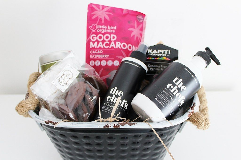 Chef Pamper Hamper with Gourmet Afternoon Tea Treats | The Gift Loft (NZ)