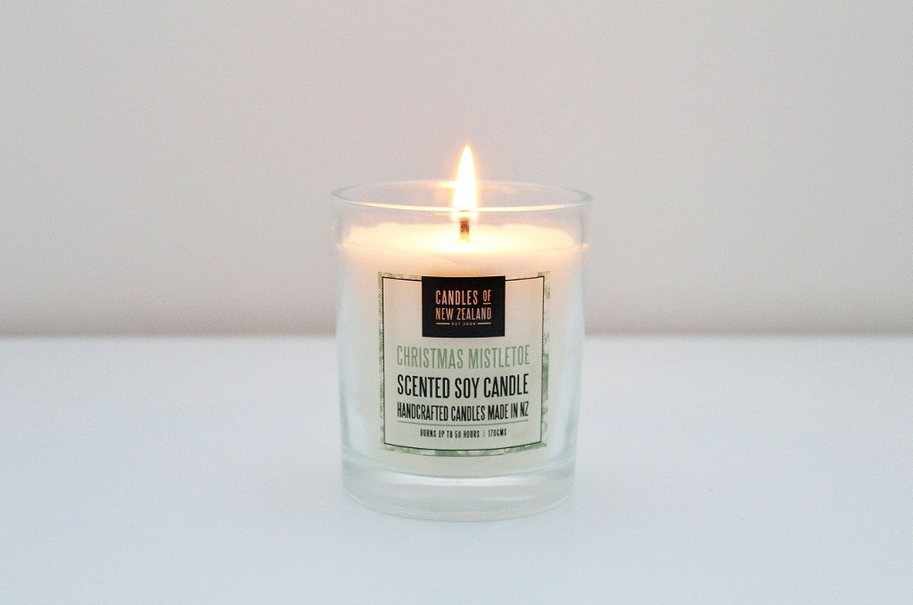 Christmas Soy Candle | Unique NZ Christmas Gift Idea | The Gift Loft (NZ)