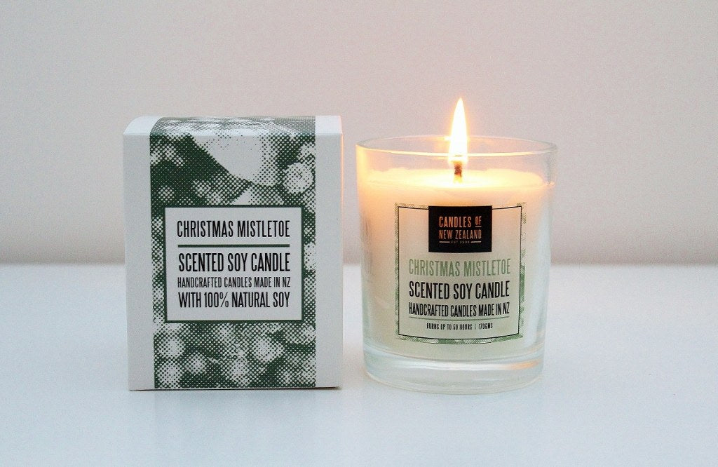 Christmas Soy Candle | Unique NZ Xmas Gift Idea | The Gift Loft (NZ)