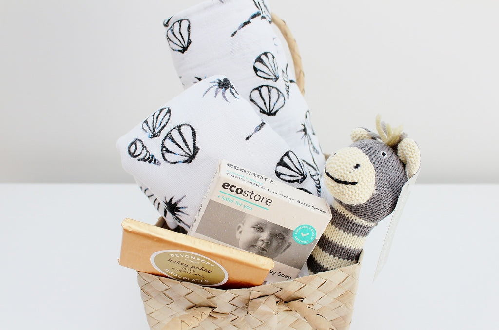 Baby Shower Gift Hamper for Boys or Girls | The Gift Loft (NZ)