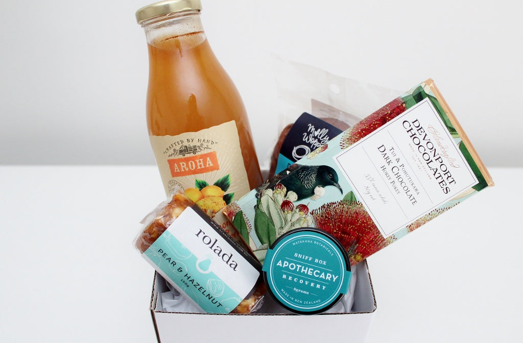 Winter Pick Me Up Hamper with Sweet Treats | Get Well | The Gift Loft (NZ)
