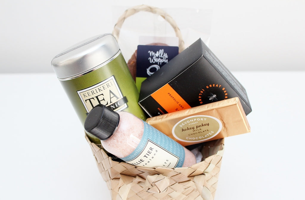 Take a Break Pamper Hamper - Great Barrier Manuka Honey Soap | Pamper Hamper for Her | The Gift Loft (NZ)
