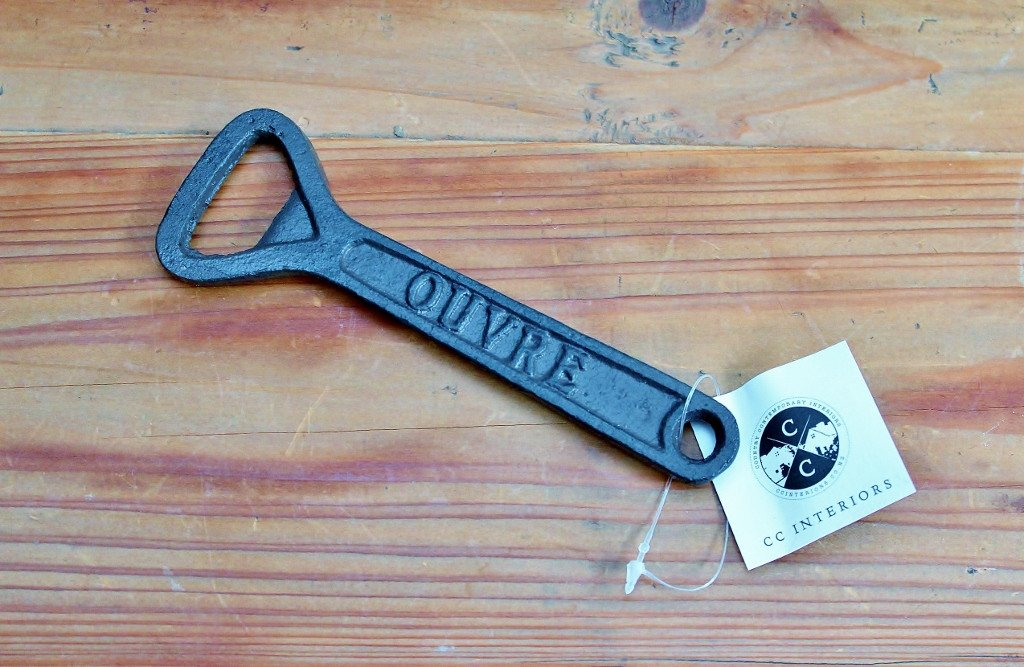CC Interiors Cast Iron Bottle Opener - Classic | Birthday Gift for Men | The Gift Loft (NZ)
