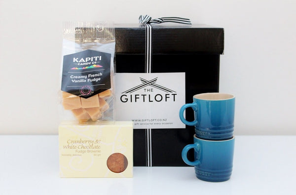 Le Creuset Espresso Mug & Treats Box (with no coffee) |  Birthday Gift for Men | The Gift Loft (NZ)
