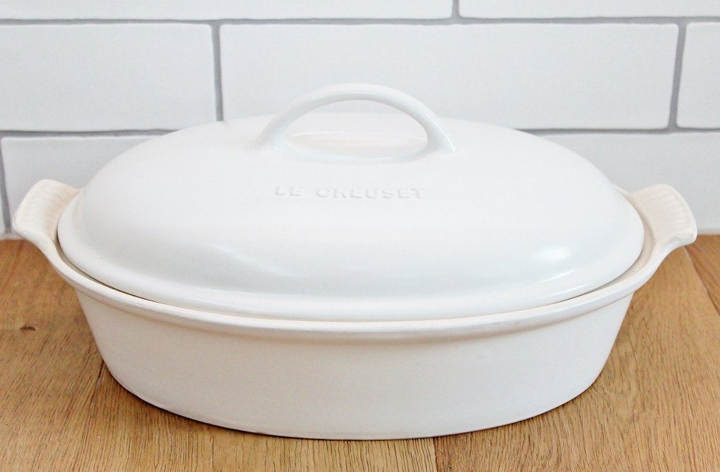 Le Creuset Heritage Deep Dish - Cotton White | Wedding Gift | The Gift Loft (NZ)