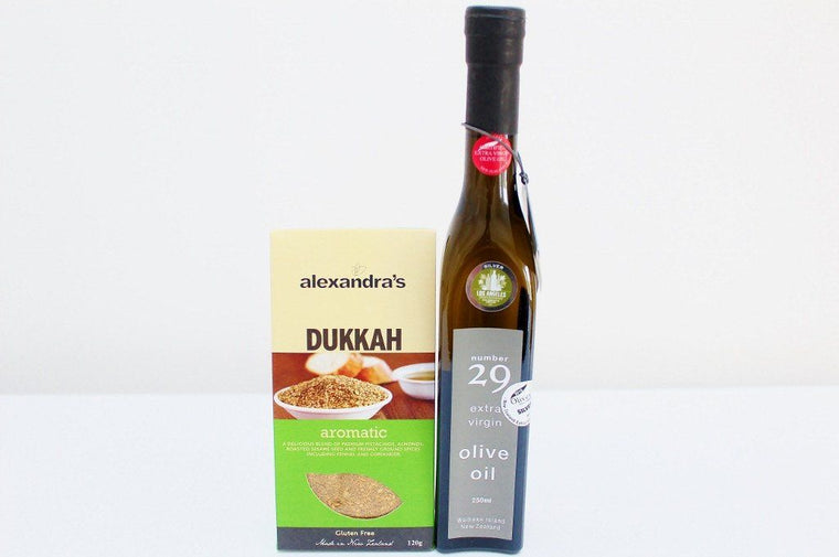 Number 29 Waiheke Olive Oil & NZ Aromatic Dukkah | Top Artisan Gift for Him or Her | The Gift Loft (NZ)