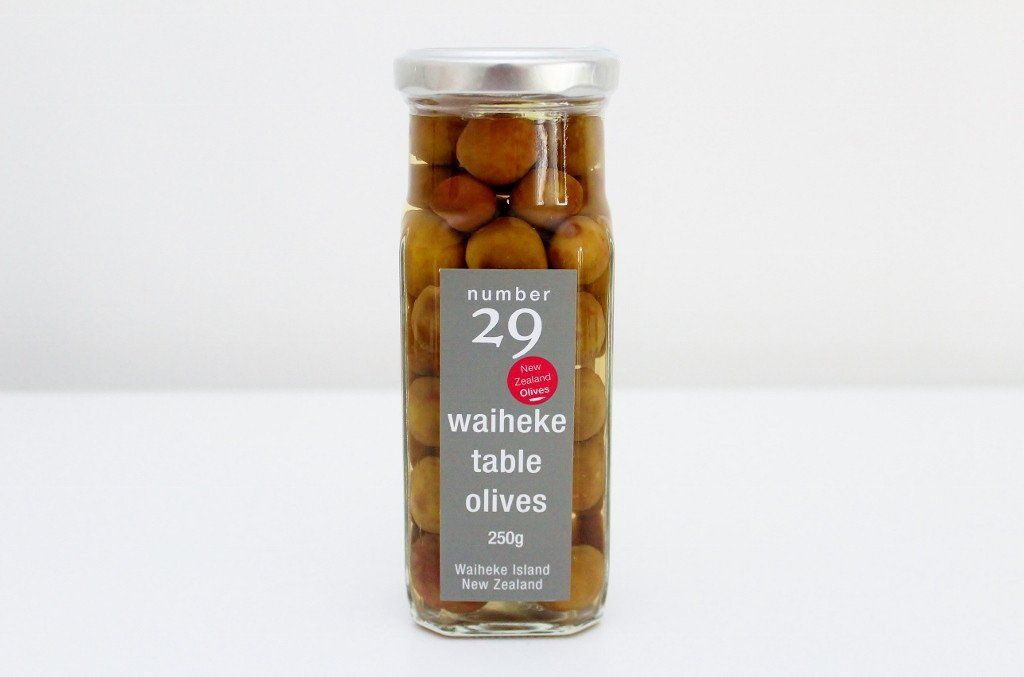 Number 29 Table Olives | Waiheke Artisan Foods | The Gift Loft (NZ)