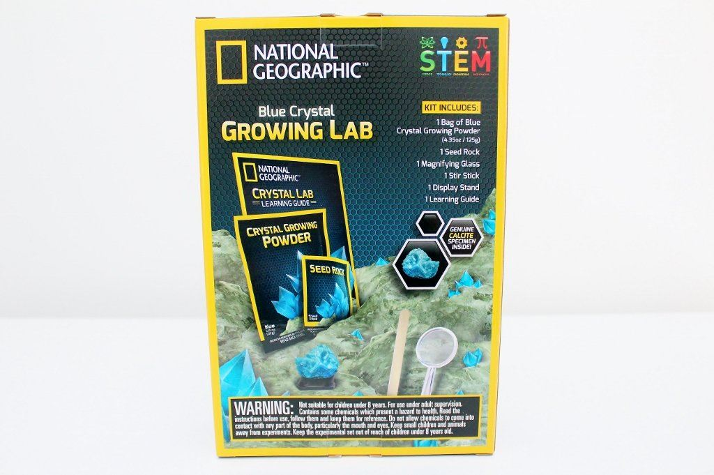 Blue Crystal Growing Lab - National Geographic | Birthday Gift for Boys & Girls | The Gift Loft (NZ)