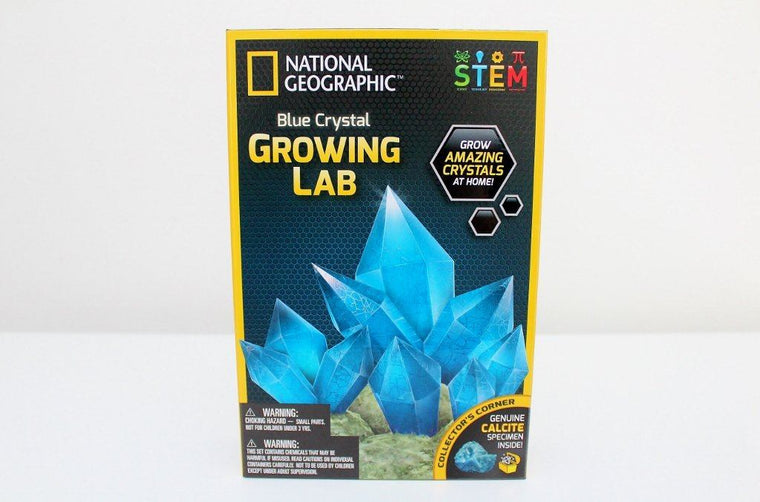 Blue Crystal Growing Lab - National Geographic | Gift for Boys & Girls | The Gift Loft (NZ)