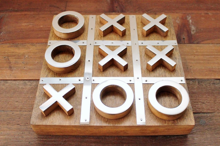CC Interiors Noughts & Crosses Set | Gift for Him or Her | The Gift Loft