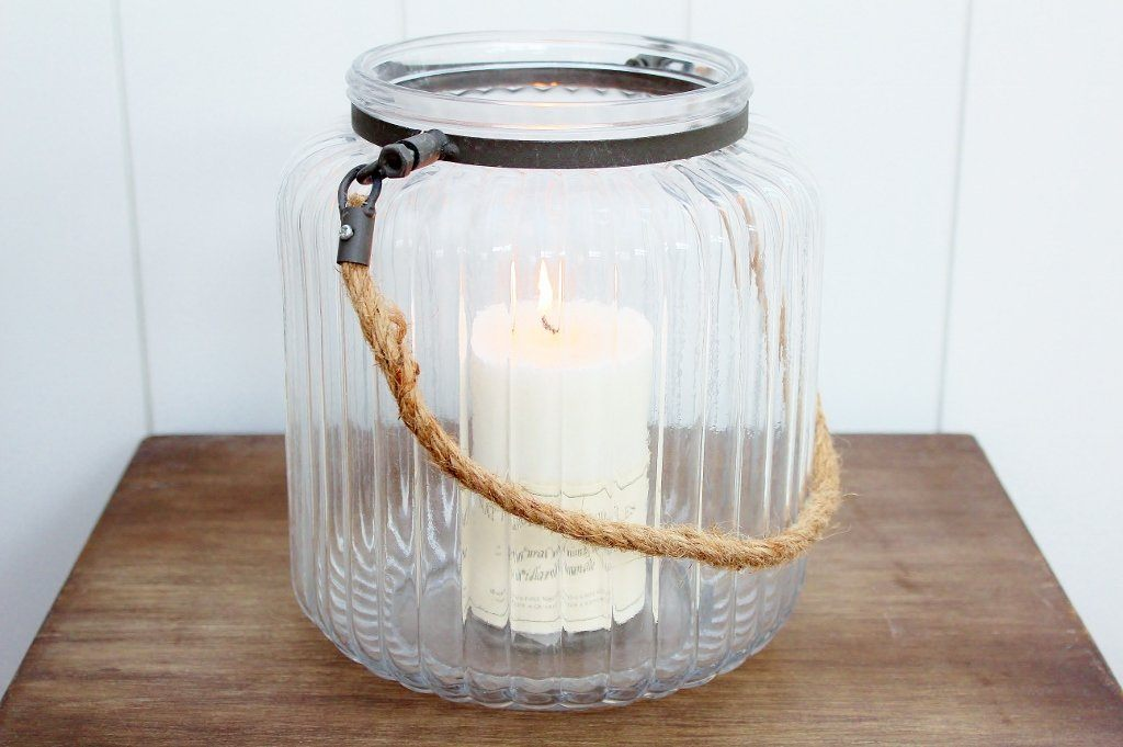 CC Interior Lantern & Pillar Candle | Engagement Gift Idea | The Gift Loft (NZ)