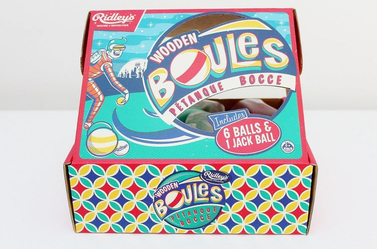 Ridley's Wooden Boules Petanque Set | Family Xmas Gift | The Gift Loft (NZ)