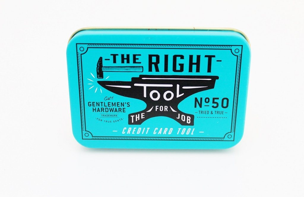 Gentlemen's Hardware Credit Card Tool | Teenage Boy Gift Idea | The Gift Loft (NZ)