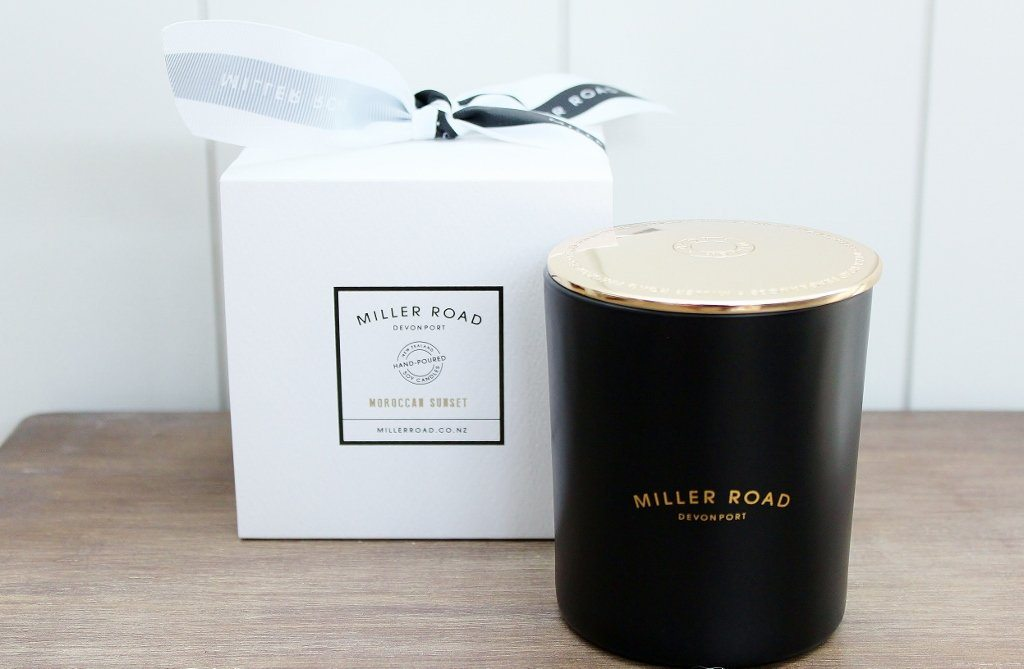 Miller Road Luxury Hand Poured Soy Candle | Birthday Gift Idea | The Gift Loft (NZ)
