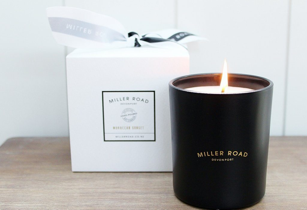 Miller Road Luxury Hand Poured Soy Candle | Candle Gift for Women | The Gift Loft (NZ)
