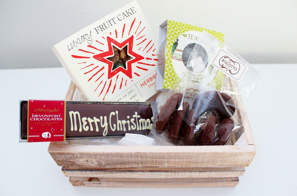 The Indulgent Merry Christmas Sweet Treats Hamper | The Gift Loft