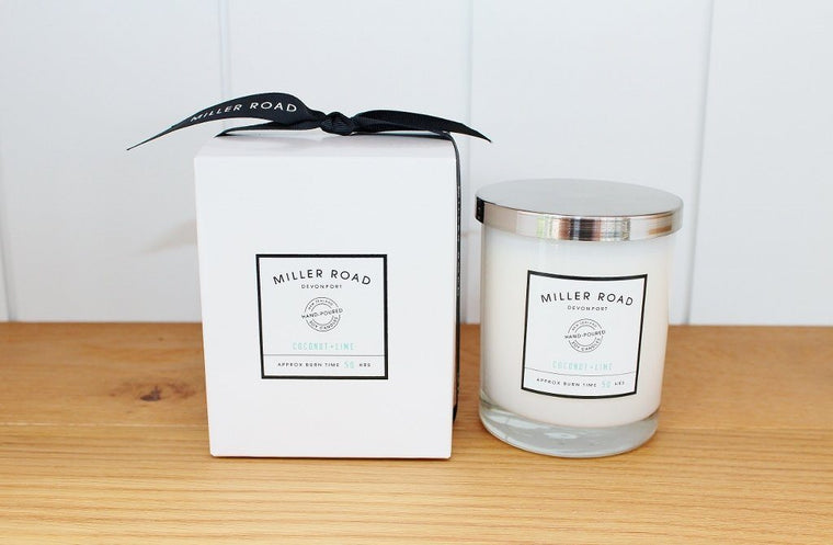 Miller Road Hand Poured Soy Candle | Birthday Gift for Her | The Gift Loft (NZ)