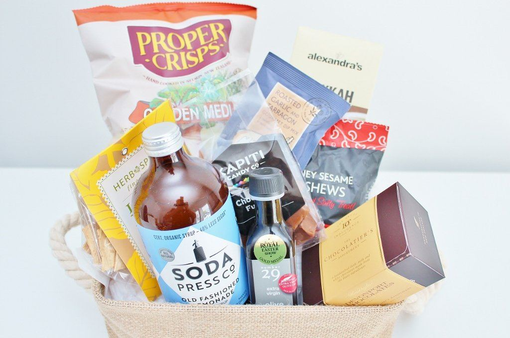 Artisan Food Hamper | Birthday Gift for Mum or Dad | The Gift Loft (NZ)