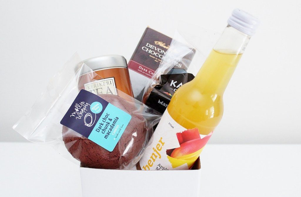 "Winter ""Get Well"" Colds & Flu Gift Hamper 