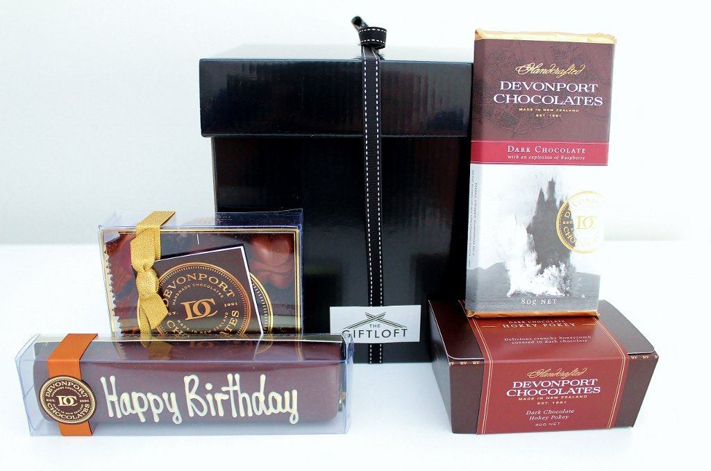 Luxurious Chocolate Hamper | Birthday Gift for Him or Her | The Gift Loft (NZ)