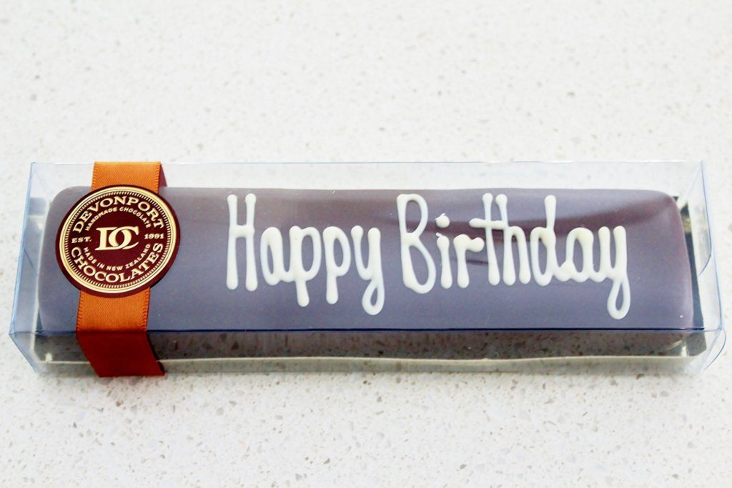 Happy Birthday Chocolate Truffle Slice | Gift for Men & Women | The Gift Loft (NZ)