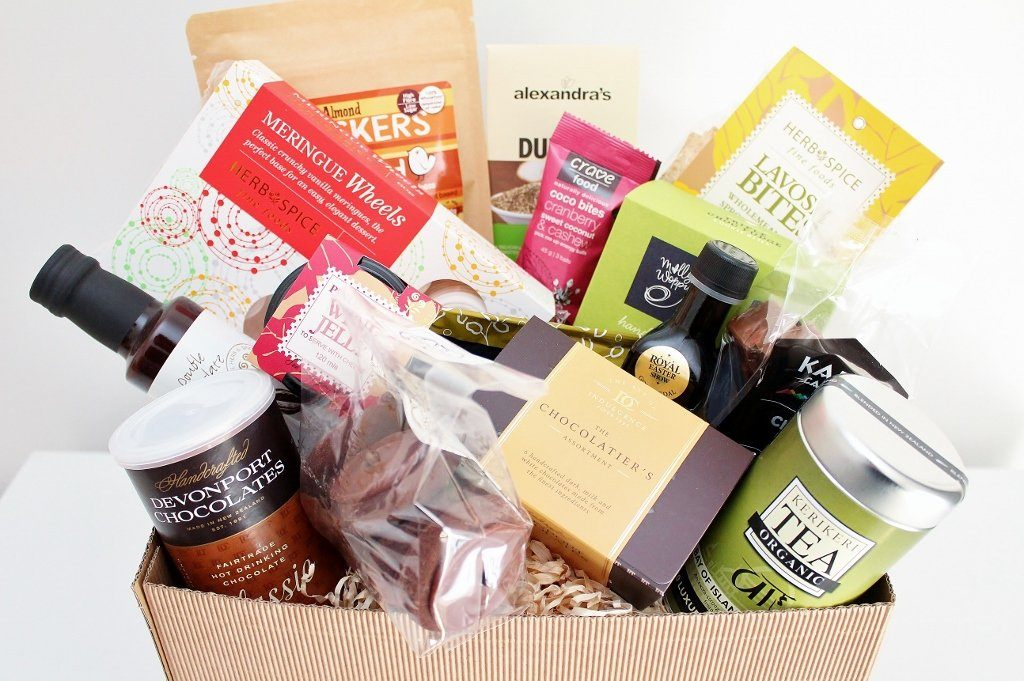 Large Sweet & Savoury Food Hamper | Gourmet Food Gift Basket | The Gift Loft (NZ)