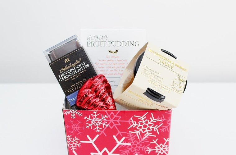 Mini Christmas Sweet Treats Hamper | Corporate Gift Food Baskets | The Gift Loft (NZ)
