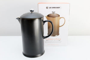 Le Creuset Coffee Press & Allpress Espresso Coffee - satin black | Top Gift Idea The Gift Loft (NZ)
