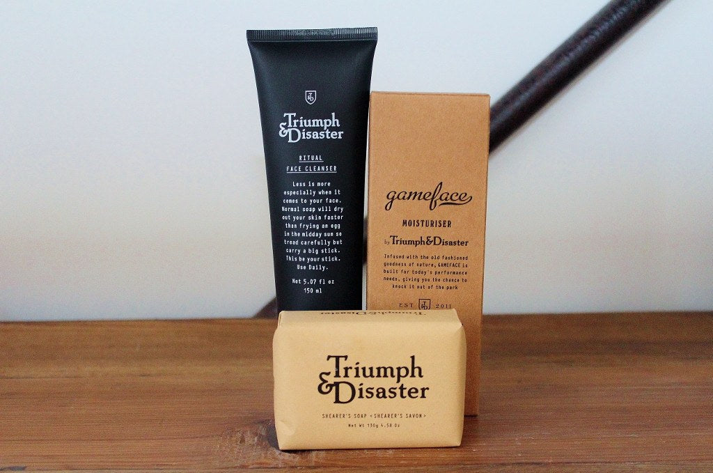 Triumph & Disaster Skin Essentials for Him | Gift for Men | The Gift loft (NZ)