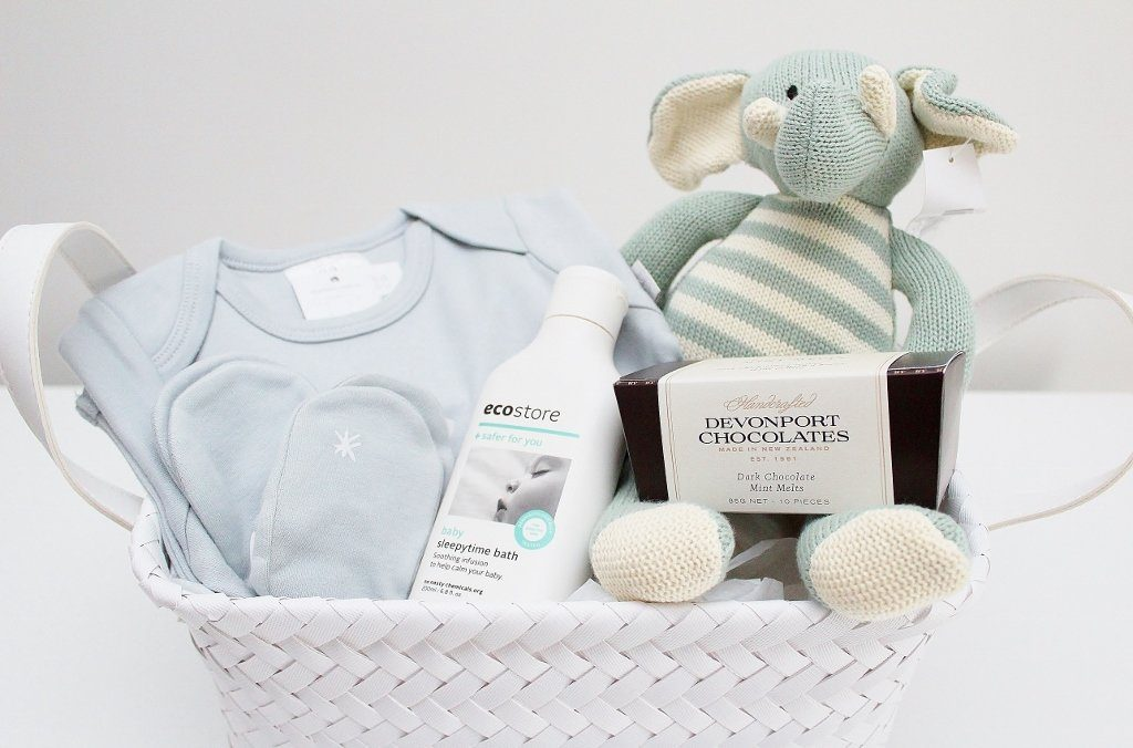 Babu Baby Basket with Boy or Girl Options | Unique Baby Shower Gift | The Gift Loft (NZ)
